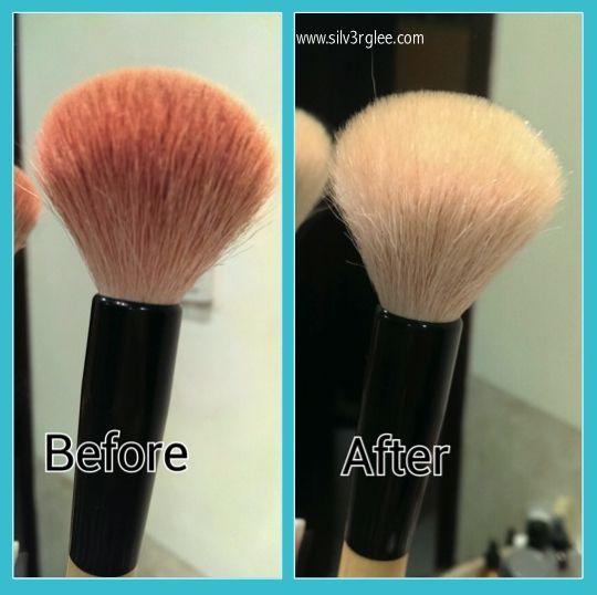 Cleaning makeup brushes | #blog #careforbrushes, #caringformakeupbrushes, #clean, #cleaningbrushes, #cleaningmakeupbrushes, #cleanliness, #DIY, #doityourself, #facecare, #fashion, #household, #hygiene, #johnsonsbabyshampoo, #makeup, #makeupbrushes, #routine, #sephora