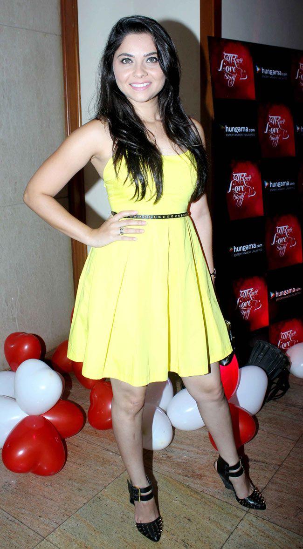 Sonalee Kulkarni at music launch of Marathi film 'Pyar Vali Love Story' #Style #Bollywood #Fashion #Beauty #Marathi