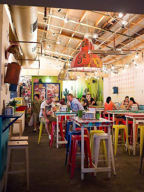 interior in shipping containers
