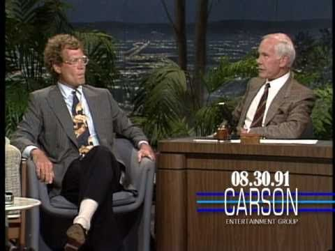 """David Letterman Talks with Johnny Carson about Jay Leno Hosting """"The Tonight Show"""" - 1991"""