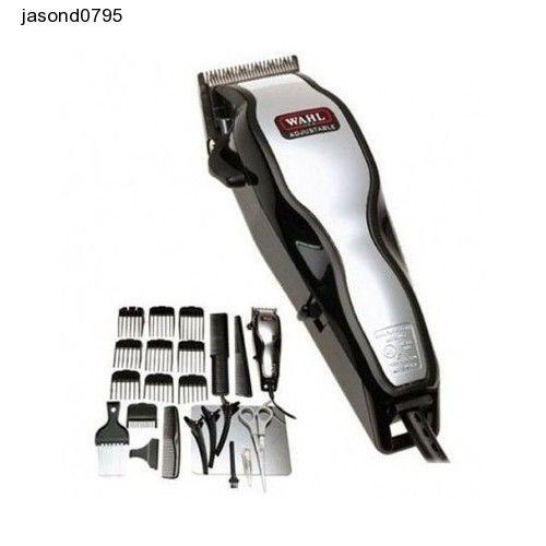 Black Hair Clipper Set Electric Shavers Hair Trimmer Fashion Men Barbershop Cut