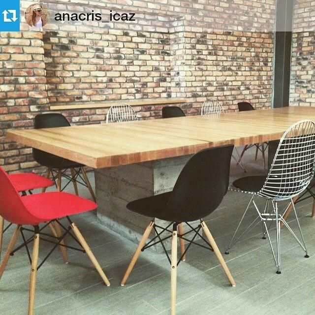 #Repost @anacris_icaz ・・・ Proyecto casi listo!! #oficinas #saladejuntas #monterrey @lasddi