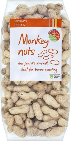 Sainsbury's Basics Monkey Nuts (500g)