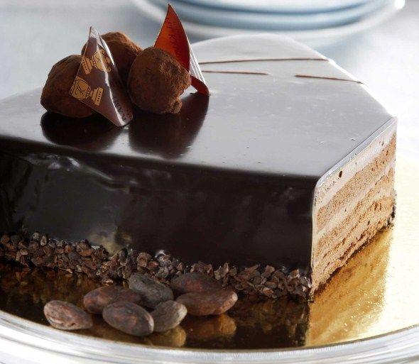 Suklaatryffelikakku, resepti – Ruoka.fi