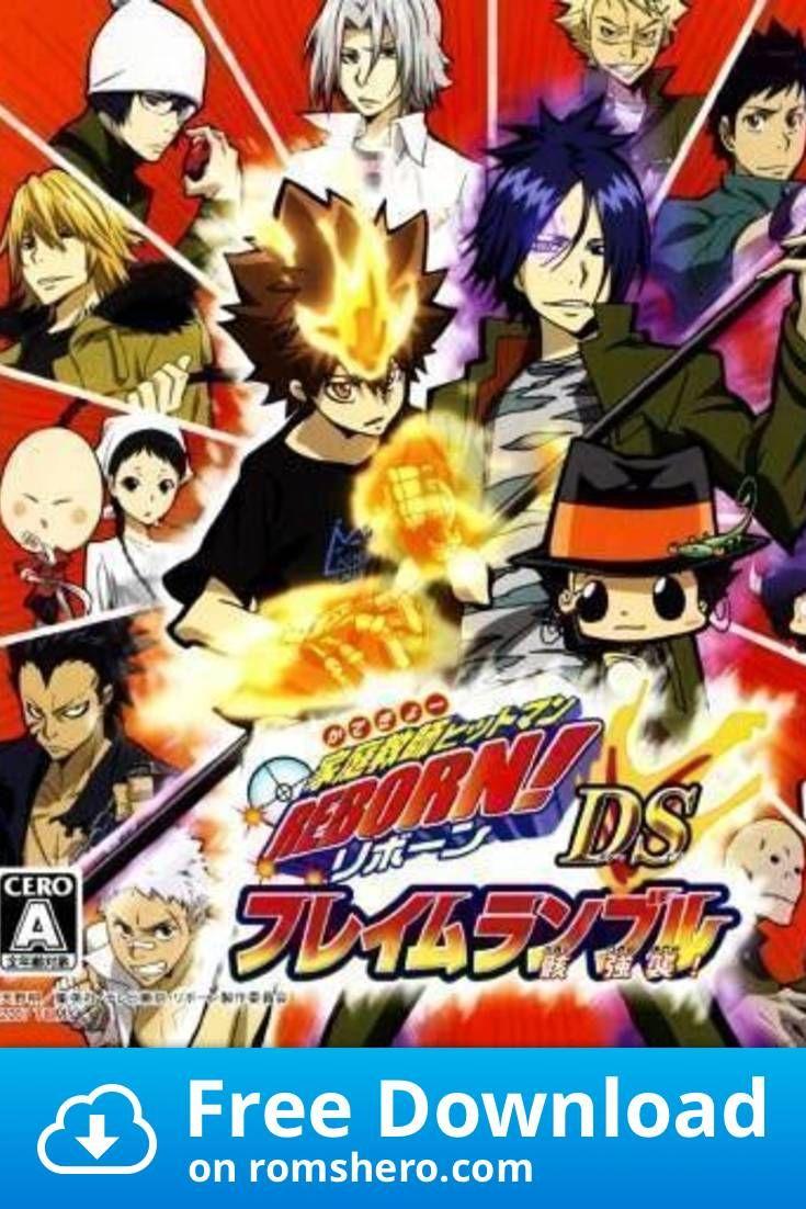 Download Katekyoo Hitman Reborn Ds Flame Rumble Mukuro Kyoushuu 6rz Nintendo Ds Nds Rom Nintendo Ds Hitman Hitman Reborn