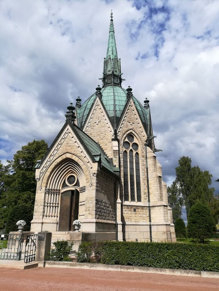 The Juselius Mausoleum Pori Finland Juselius had this mausoleum build in memory of his daughter Sigrid who died at the age of 11
