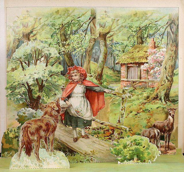"E. Stuart Hardy - ""Little Red Riding Hood"" by sofi01, via Flickr"