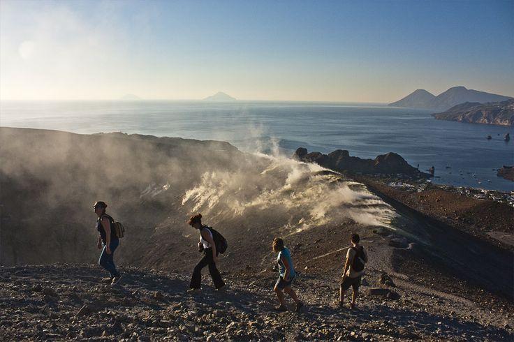 Gran Cratere #Vulcano #Eolie - Il blog tour #eolietour13   #eolietour13 ->