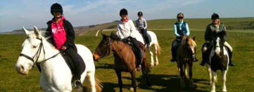 Have you ever wanted to try horse riding? Happy Valley Riding School offers horse riding lessons on the beautiful South Downs in West Sussex. Lessons cost from £15. A private lesson for 45 minutes is £30. Lessons start from the age of 4 years. The schools's postcode is BN436HL: just 15 minutes by car from Rosebud Cottage, in historic Steyning, near Brighton.  For more details go to: http://www.happyvalleyridingschool.co.uk Posted by Jenny @ ...