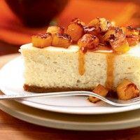 Peanut Butter Cheesecake with Peanut Brittle - Bon Appétit
