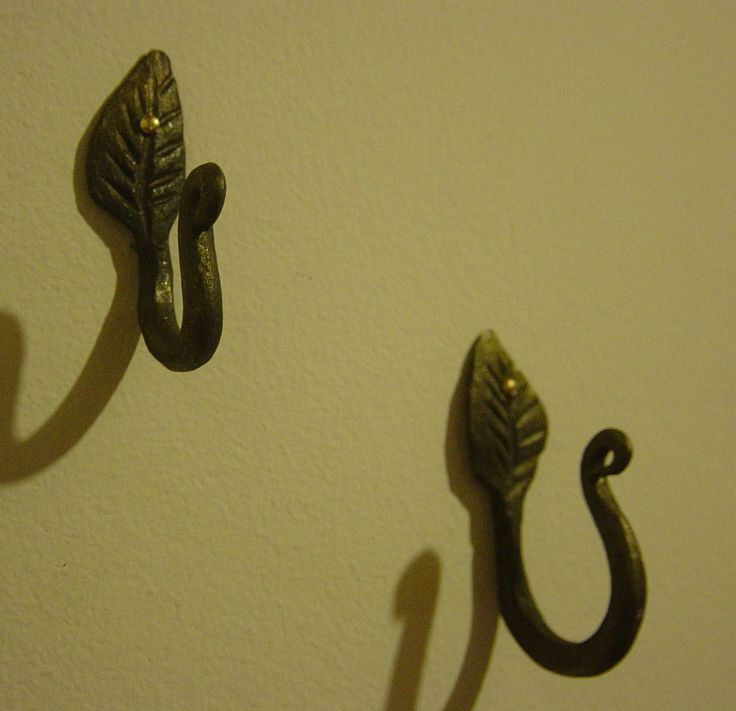 Wall Hooks Hand Forged My Products Pinterest Wall
