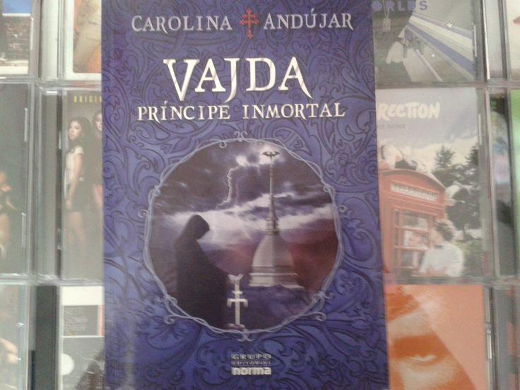 """""""Vajda: Principe Inmortal"""" escrito por Carolina Andújar:"""