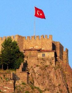 İç İçe Geçmiş Zamanlar Sahnesi: Ankara Kalesi