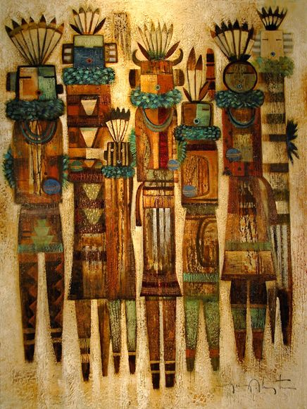 Tony Abeyta - Native American Artist. Kachina Art.