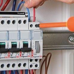 raccordement d'un circuit à un tableau électrique