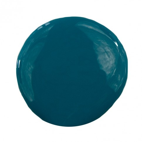 ICS 17-6 Interior Paint Color - rich dark teal - here's the color that I think would look cool on your kitchen island.