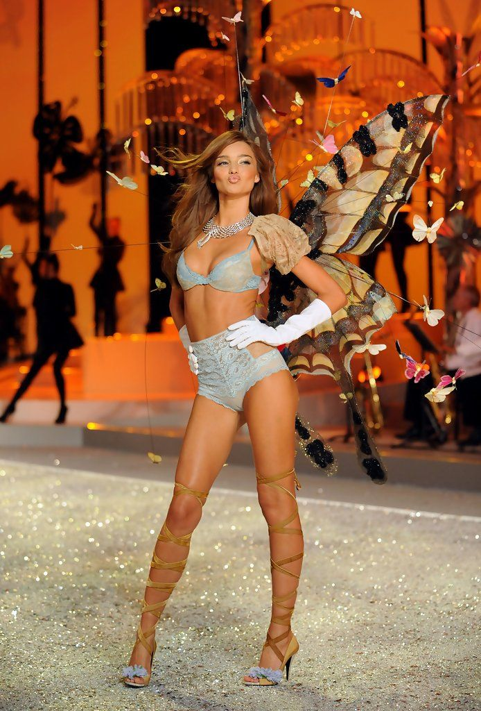 Miranda Kerr ...... Kerr rose to prominence in 2007 as one of the Victoria's Secret Angels.