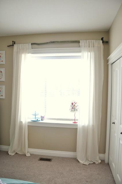 Beautiful Inspirations: Branch Curtain Rod