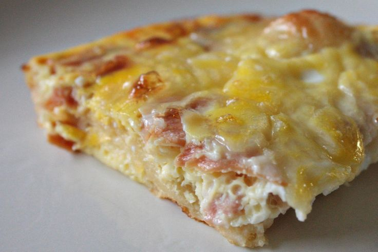 egg dishes for breakfast | Bacon, Egg, and Cheese Breakfast Casserole