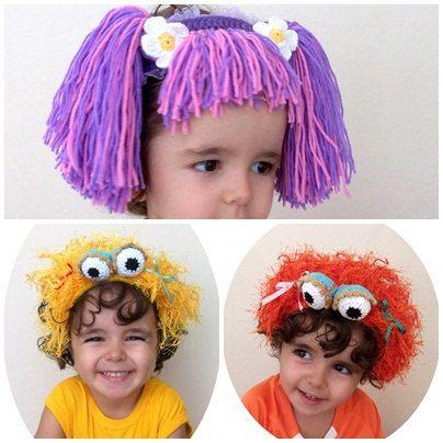 Abby(Inspired) and Zoe headband-Sesame Street Abby Cadabby inspired and Zoe inspired Headband-2 pcs hair band-sesame street characters