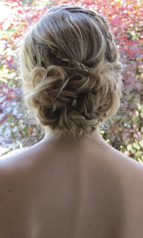 updo, braids, grad