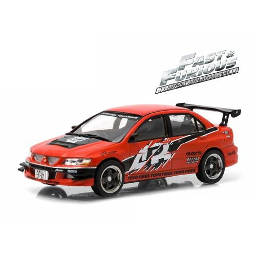 The Fast and the Furious Tokyo Drift Movie 2006 Mitsubishi Lancer Evolution IX 1:43 Scale Die-Cast Metal Vehicle