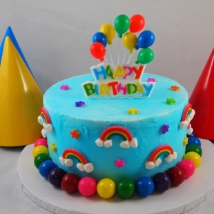 26 best images about Rainbow Birthday cake on Pinterest ...