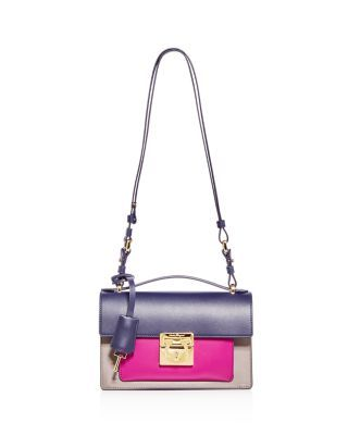 746e0cd1e1e8d SALVATORE FERRAGAMO Aileen Color Block Leather Shoulder Bag.   salvatoreferragamo  bags  shoulder bags  hand bags  leather