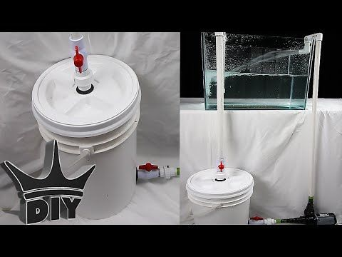 HOW TO: Build an XL aquarium canister filter - PART 2 OF 2 - YouTube