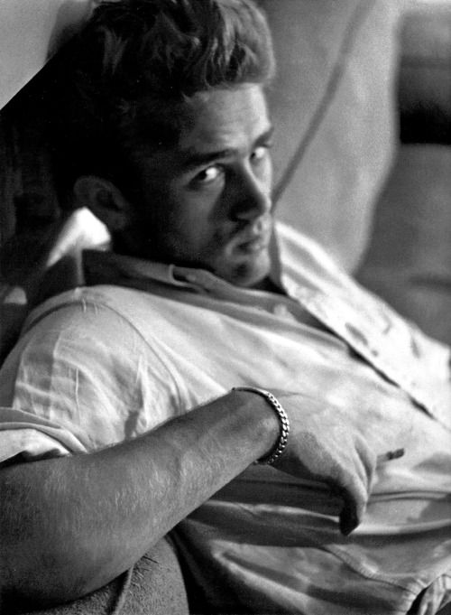 "jamesdeaner: "" James Dean photographed by Roy Schatt, 1954. """