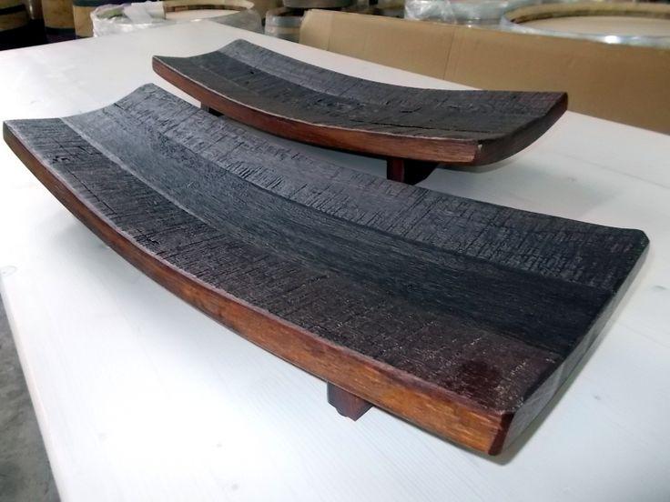 1645 - Centrotavola da doghe di barrique