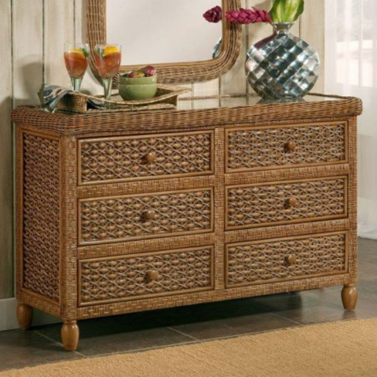 White Wicker Bedroom Suite: 19 Best Tropical Rattan And Wicker Bedroom Furniture