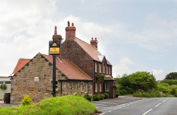 The Beehive pub, Hartley Lane, Earsdon, near Whitley Bay