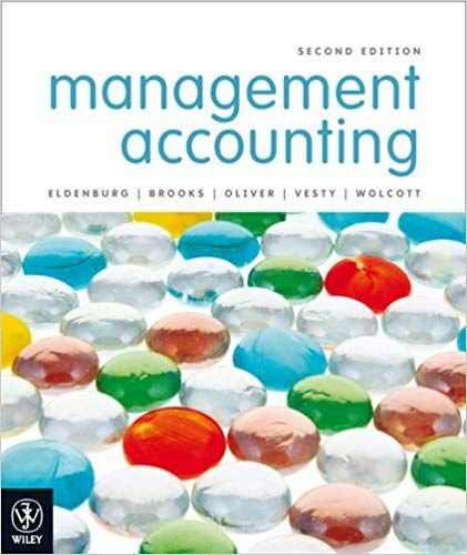 management accounting eldenburg solutions manual