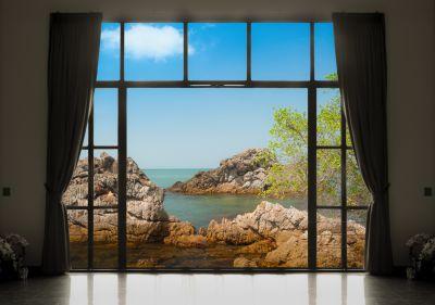 Fototapet 3D Vedere de la fereastra