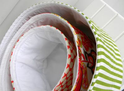 So are you all ready to start sewing your Baby Basket Cake? Let's start things off by making the round nesting baskets, after all those cute baskets are what make this a cake. Now I made temp…