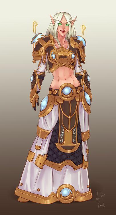 World of Warcraft blood elf priest