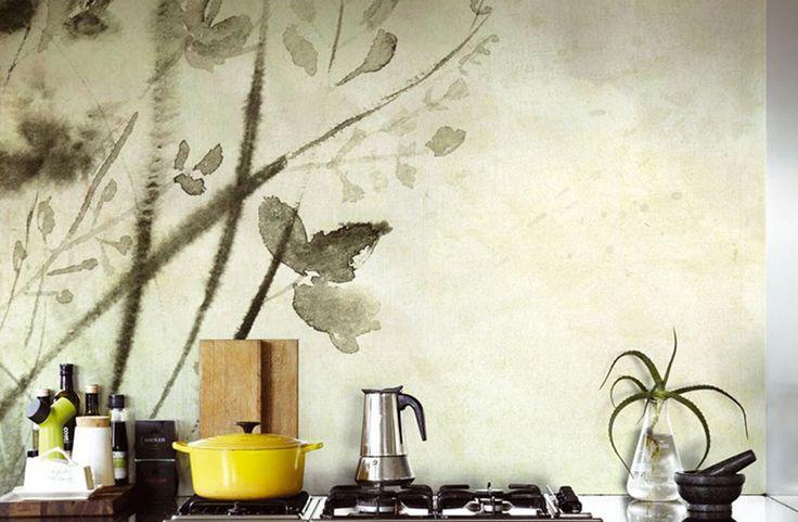 WetSystem la carta da parati per la tua cucina!!!  #wallpaper #wetsystem #wallanddeco #underproof #cartadaparati #speciale #special #decorazione #design