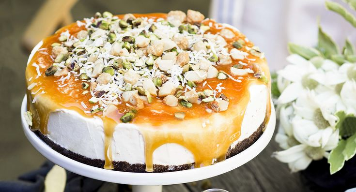 Caramel nut ice-cream cake| Get into this deliciously decadent dessert