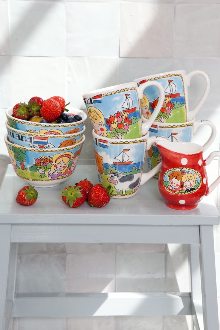 I love Holland pottery by Blond-Amsterdam