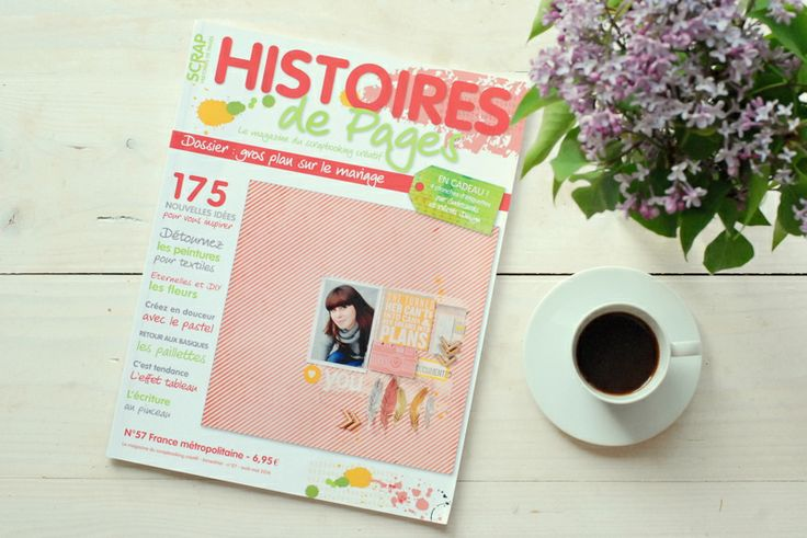 my layout on the cover of Histories de Pages magazine :)