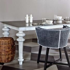 Michelle - Blog #Grey Fonte : http://www.heals.co.uk/dining-tables/gervasoni-gray-33-dining-table/invt/685754