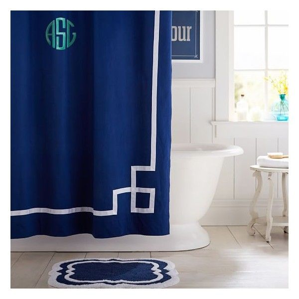 17 best ideas about Navy Blue Shower Curtain on Pinterest | Navy ...