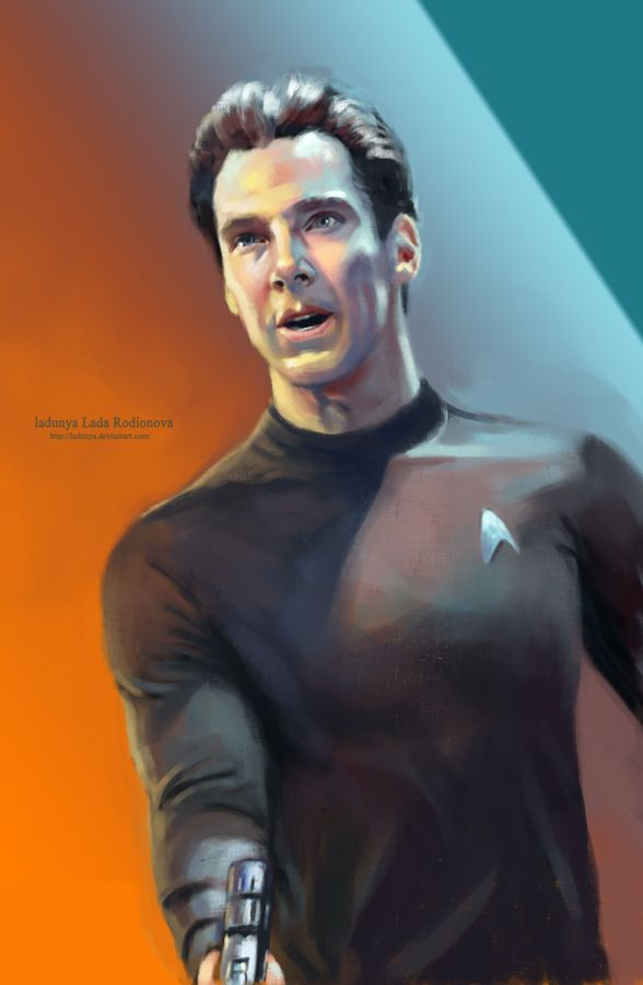 Khan Noonien Singh by ~ladunya on deviantART