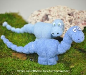 Download Washcloth Dinosaur Sewing Pattern | Video Tutorials Downloadable Sewing Patterns | YouCanMakeThis.com