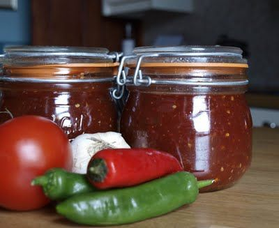 Farmersgirl Kitchen: Tomato Chilli Jam