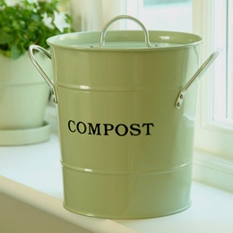 I can't even imagine how much trash we would have without our compost bin.
