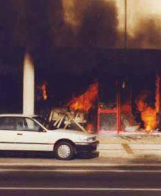 The Jolimont Centre Siege. Canberra, Australia, 1993. (29th November).