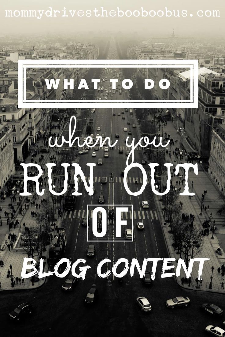 here are some great places to find ideas when you are stuck for blog content