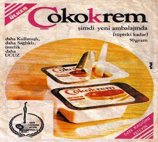 1970ler Çokokrem Afiş